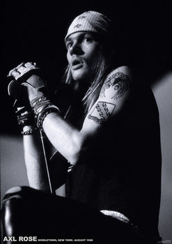 Juliste  Guns N´ Roses - Axl Rose Middletown New York 1988