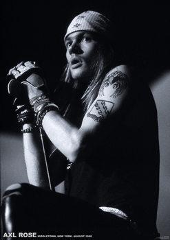 Juliste  Guns N Roses (Axl Rose) - Middletown, New York, August 1988
