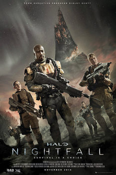 Juliste Halo: Nightfall - Key Art