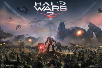 Juliste Halo Wars 2 - Key Art