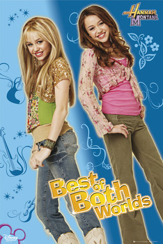 Juliste HANNAH MONTANA - best of both worlds