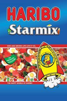 Juliste Haribo - Starmix