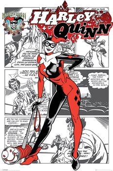 Juliste Harley Quinn - aka Dr. Harleen Francis Quinzel