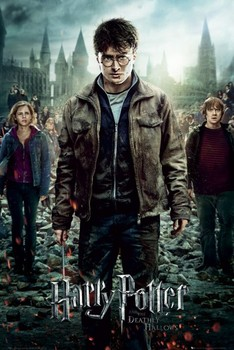 Juliste  HARRY POTTER 7 - part 2 one sheet