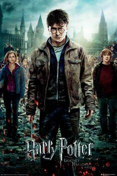 Juliste Harry Potter - Kuoleman varjelukset