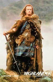 Juliste Highlander - kuolematon