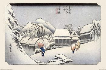 Juliste Hiroshige - Kambara