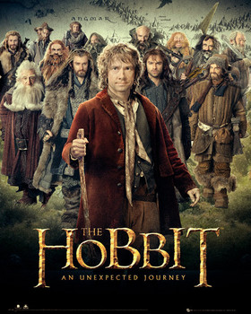 Juliste  HOBBIT - dwarves