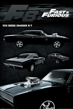 Juliste Hurjapäät - Dodge Charger
