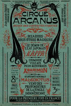 Juliste  Ihmeotukset: Grindelwaldin rikokset - Le Cirque Arcanus