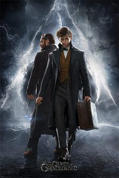 Juliste  Ihmeotukset: Grindelwaldin rikokset - Newt & Dumbledore
