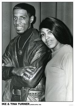 Juliste Ike and Tina Turner - London April 1968