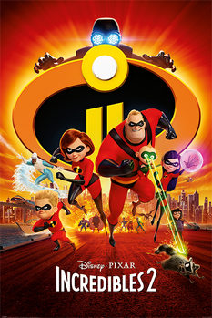 Juliste  Incredibles 2 - One Sheet