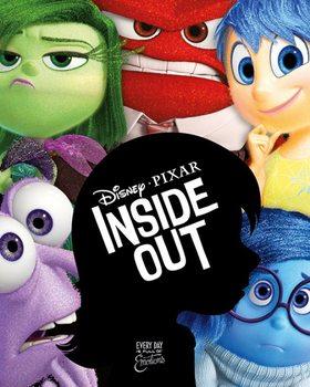 Juliste Inside Out: Mielen sopukoissa - Silhouette
