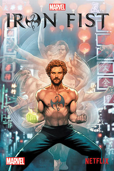 Juliste Iron Fist - Comic