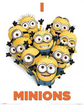 Juliste Itse ilkimys 2 (Despicable Me 2) - I Love Minions