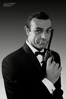 Juliste James Bond 007 - The Name Is Bond (Sean Connery)