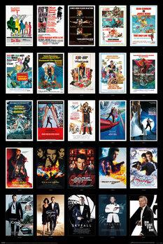 Juliste James Bond - 25 Films