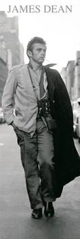Juliste James Dean - black & white photo