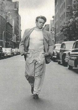 Juliste James Dean - Walking