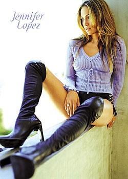 Juliste Jennifer Lopez - boots