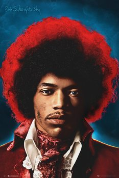 Juliste  Jimi Hendrix - Both Sides Of The Sky