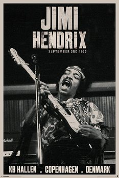 Juliste Jimi Hendrix - copenhagen