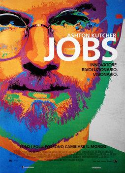 Juliste jOBS: Gondolkozz másképp - Ashton Kutcher as Steve Jobs