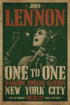 Juliste John Lennon - concert