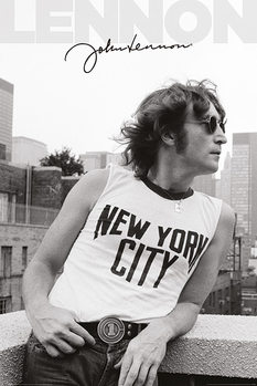 Juliste John Lennon - NYC Profile