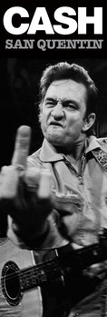 Juliste Johnny Cash - san quentin