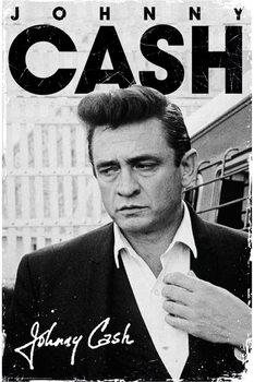 Juliste Johnny Cash - signature