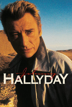 Juliste  Johnny Hallyday - Desert