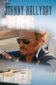 Juliste  Johnny Hallyday - Drive