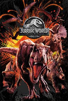 Juliste  Jurassic World: Kaatunut valtakunta - Montage