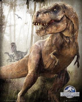 Juliste Jurassic World - T-Rex