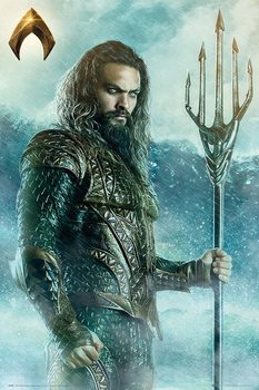 Juliste Justice League - Aquaman Trident