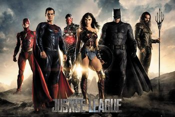 Juliste  Justice League - Characters