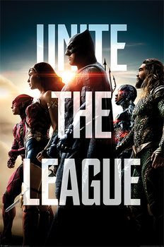 Juliste  Justice League - Unite The League
