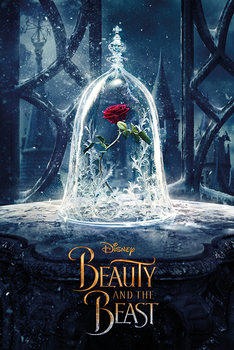 Juliste Kaunotar ja hirviö - Enchanted Rose