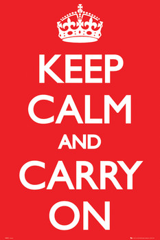 Juliste Keep Calm And Carry On