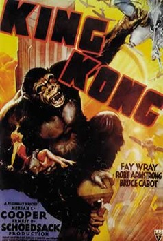Juliste  KING KONG