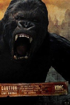 Juliste  KING KONG - scream
