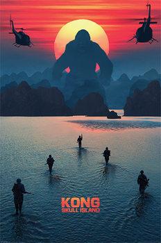 Juliste Kong: Pääkallosaari - Horizon