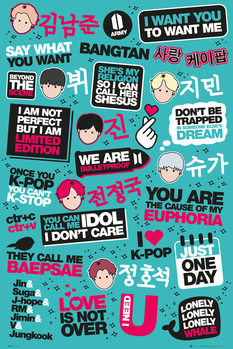 Juliste  KPOP - Quotes