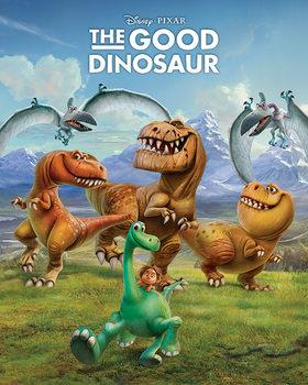 Juliste Kunnon dinosaurus - Characters