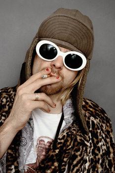 Juliste Kurt Cobain - Colour