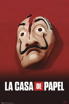 Juliste La Casa De Papel - Mask