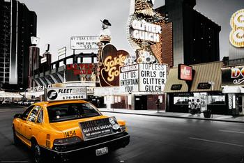 Juliste Las Vegas - taxi