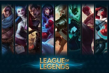 Juliste League of Legends - Champions
